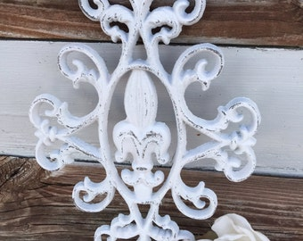 Wall Decor /  Fleur De Lis Wall Decor / Wall Decor / Metal Wall Decor