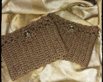 Boot Cuffs Crochet
