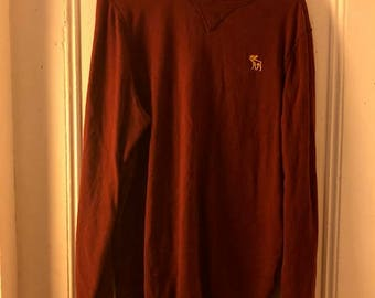 Abercrombie & Fitch mens long sleeve shirt