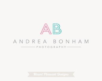 Premade business logo design - photography logo design & watermark