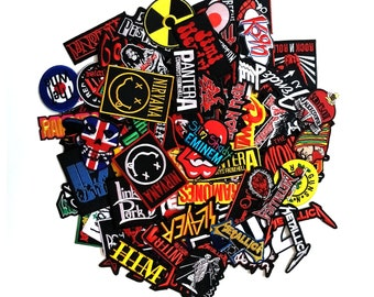 Music Rock Band Pop Indy Random Embroidered Sew Iron On Patch Applique Wholesale