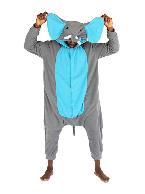 Adult Animal Onesie (Kigurumi - Cosplay) - Elephant (male & female) Go92J0M8
