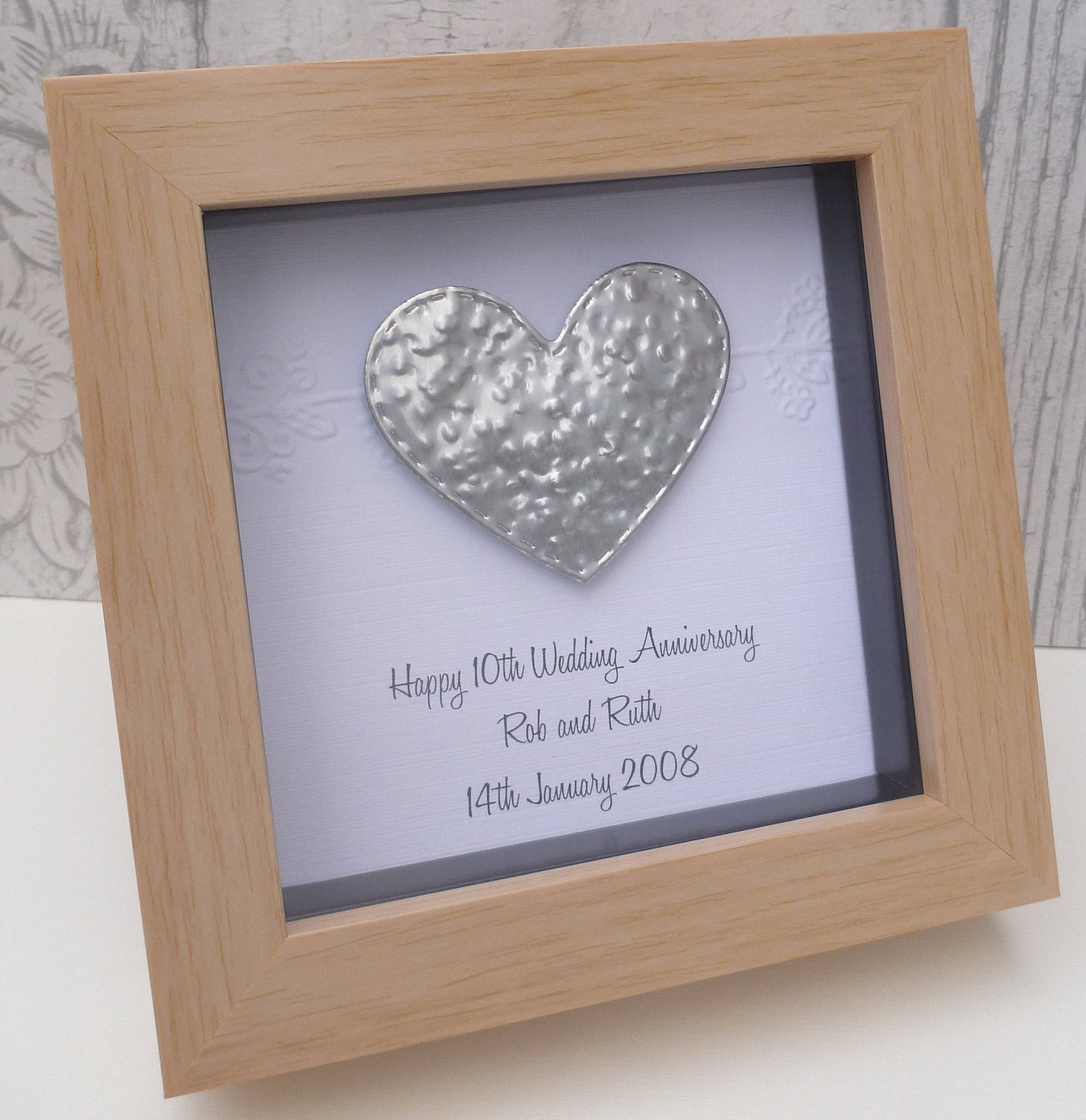 Gift For 11th Wedding Anniversary: 10th Anniversary Gift 11th Steel Wedding Anniversary