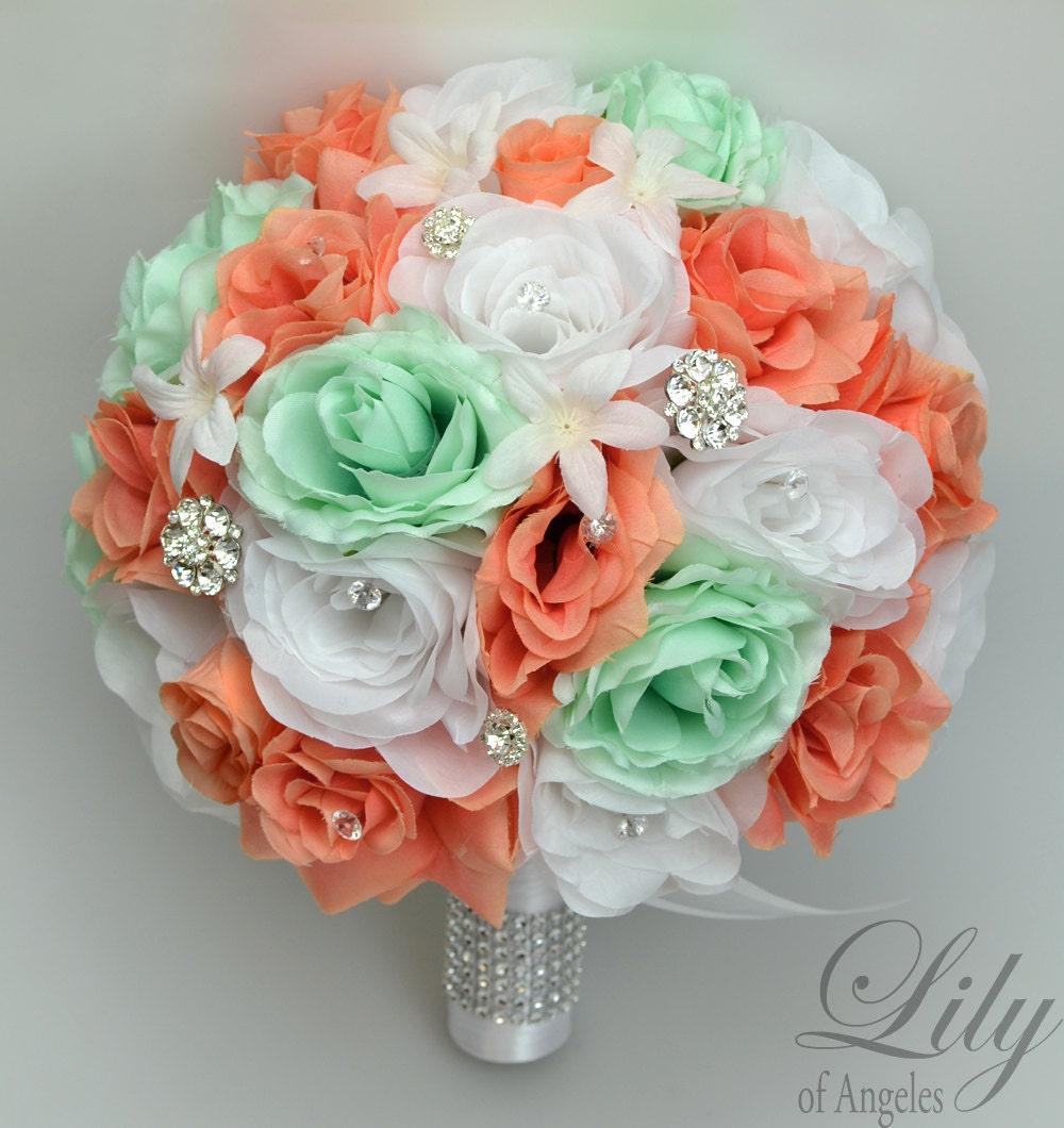 Wedding Bouquet Wedding Flowers Silk Flower Bouquet