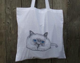 Bag, bag for Gift, Beach. For market. Bag for bread, cakes. For girl.