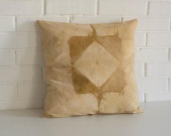 Handmade Botanical Dye Pillow Cover