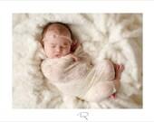 Nouveau-né Wrap - pure dentelle stretch Wrap - Champagne - nouveau-né Photo Prop - maternité Photographie Prop, nouveau-né Wrap