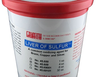 Griffith Brand Liver of Sulfur 4oz  (45.689)