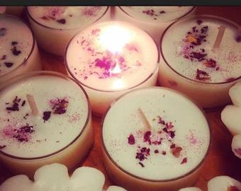 Enchanted Tea Lights~Rose