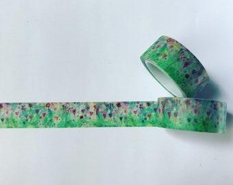 Little Rainbow Moon floral washi tape
