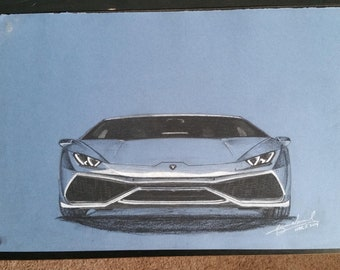 Lamborghini Huracan Illustration