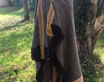 Sayon 100% wool striped vegetable dye
