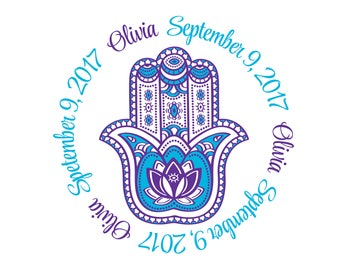 Hamsa Bat Mitzvah Logo
