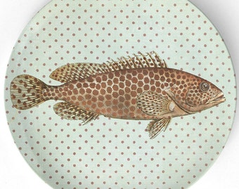 Sea Life Fish II plate