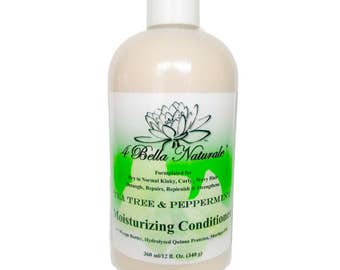 All Natural Moisturizing Conditioner   Tea Tree/Peppermint 12 oz