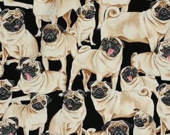 Pugs - Custom Made Scrub Tops Nursing Uniforms