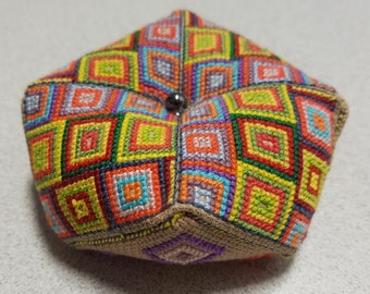 Geometric Biscornu Pattern Only