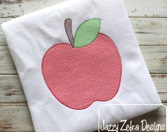 Apple 104 Sketch Embroidery Design - apple Sketch Embroidery Design - fruit Sketch Embroidery Design - school Sketch Embroidery Design