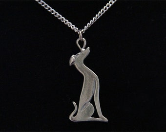Greyhound Necklace - Whippet Galgo Italian Greyhound Necklace