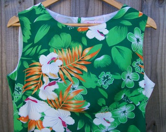 Size 16 Retro 60's Style Shift Dress