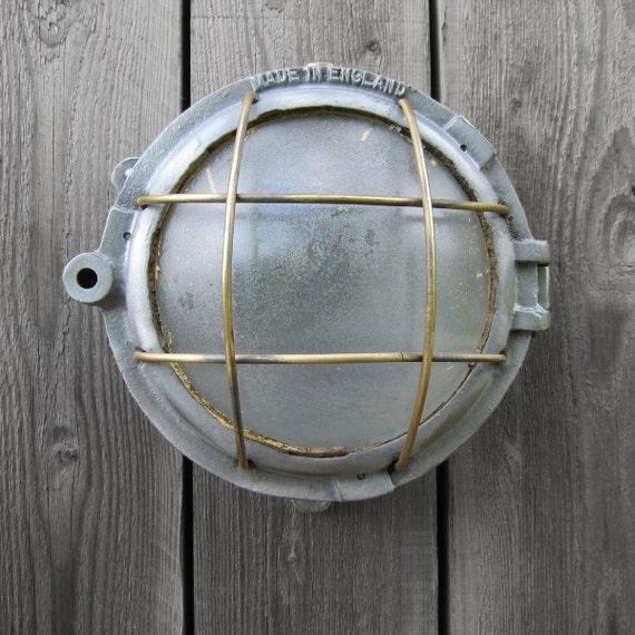 Industrial Bulkhead Wall Light Ship - Great Feature Light Lamp