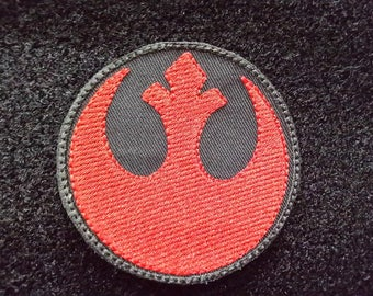 Embroidered Star Wars Rebel Insignia Hook and Loop Patch