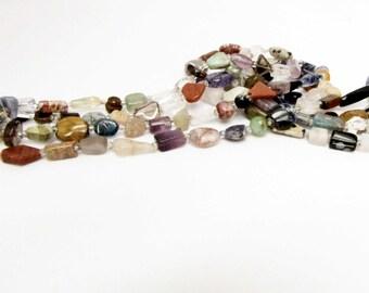 Gemstone Variety Bead Strand 15 inch strand Jewelry Bead Supply Necklace bracelet earring Jewelry supply #102