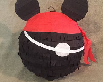 Mickey Mouse Pinata, pirate mickey pinata