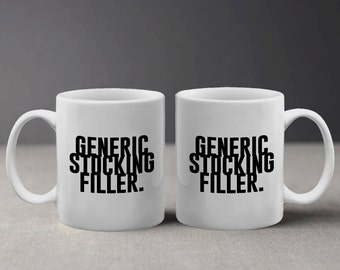 Generic Stocking Filler Funny Christmas Quote Mug M658