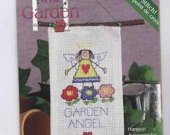 Garden Angel Ornament Counted Cross-Stitch Kit