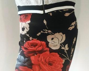 Pink SKIRT (waist pencil skirt high elastane)