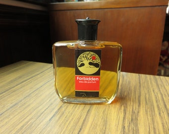 Vintage Forbidden Eau De Parfum By Dana 2 fl oz Perfume Glass Bottle