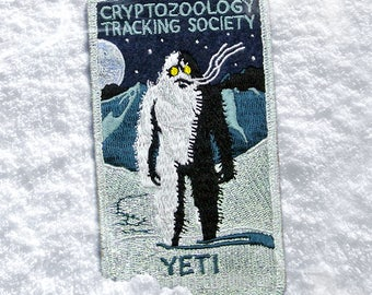 Cryptozoology Tracking Society: YETI Patch