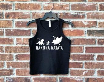 Hakuna Matata Tank, Lion Tank, Mens Lion King Tank, Lion King Tank, Hakuna Matata, Animal Kingdom Tank, Mens Disney Tank, Animal Kingdom