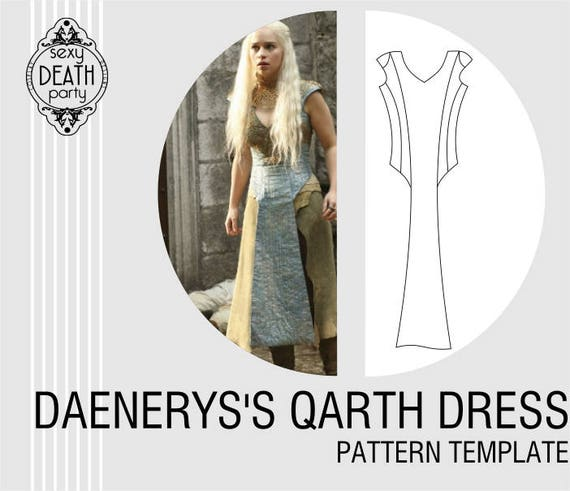 Daenerys targaryen qarth dress pattern pdf download solutioingenieria Gallery