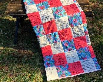 Wedding Quilt Completion Service