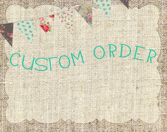 Custom listing for Alex