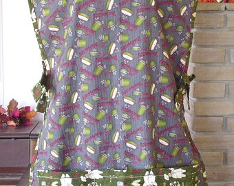 Pots and Pans and Chefs Full Length Apron