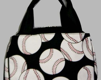 Personalized  Insulated Lunch bag-BASEBALL LUNCHBAG
