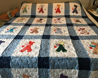 Gone Fishing twin quilt