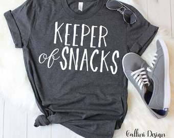 Keeper of Snacks Svg Funny Mom Svg Mom Life Svg Mama Svg Files Svg for Cricut Silhouette Vinyl Iron On Designs Commercisal Use Svg Dxf Png