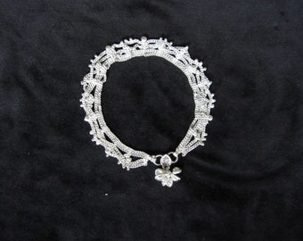 Anklet silver charms (12)