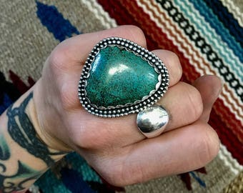 Scallop statement Turquoise