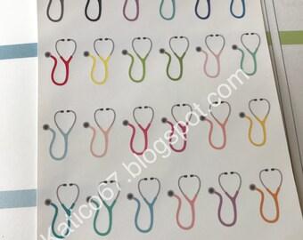 Stethoscope stickers