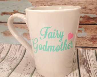 Fairy Godmother Mug, Godmother