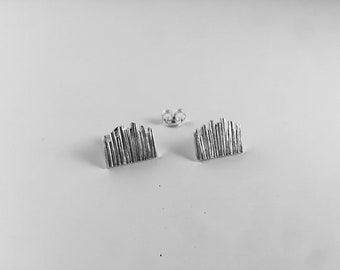 Milan DUOMO earrings in silver 925% handmade, Milan collection