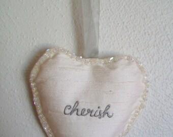 Heart Shape Sachet - Lavender Scented