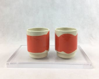 Ceramic Stacking Cups