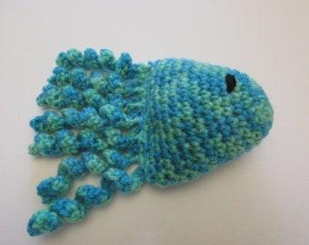 Handmade catnip fish cat toy