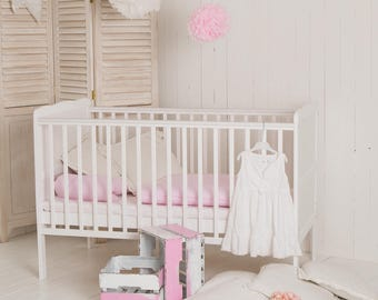 "Puck daddy Baby Cot Bed ""Cloud"""